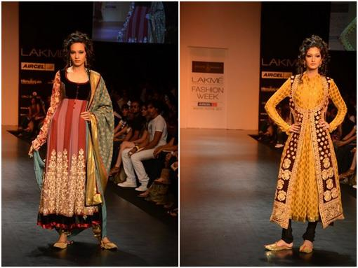 Lakme India Fashion Week Winter 2011 - Shyamal and Bhumika