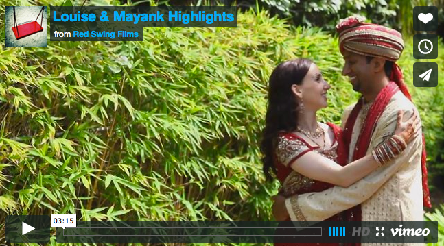 CineMonday: Gorgeous Outdoor Hindu Wedding by Red Swing Films