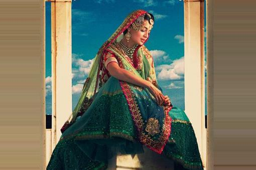 Vintage Bollywood Palette Indian Wedding Color Inspiration