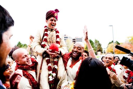 Outdoor Denver Colorado Indian Wedding