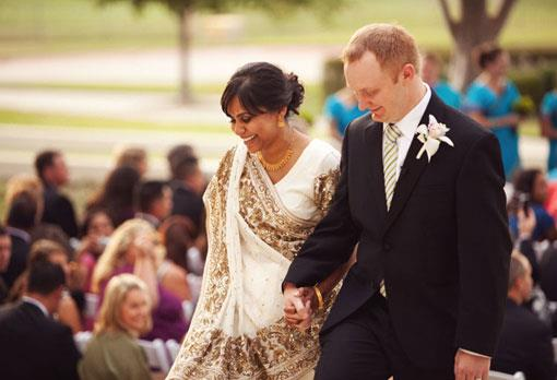 Outdoor Indian Christian Wedding by EE Photography