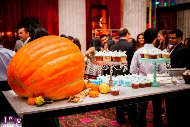 4 Indian Engagment Party Dessert Table Decor Pumpkin