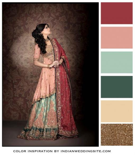 red-pink-teal-gold-indian-pakistani-wedding-dress-e1382060976554