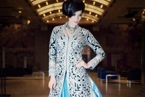 Indian Wedding Fashion Trend - Sherwani Jacket Lehngas