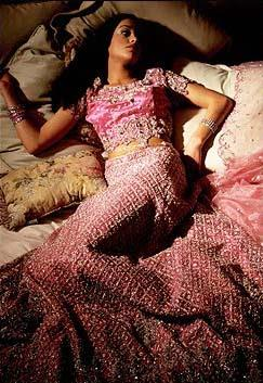 Khubsoorat Collection pink lehnga