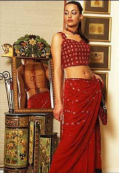 Khubsoorat Collection red lehnga
