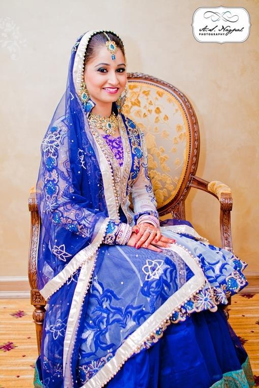 Punjabi ballroom indian wedding reception in new york 3 for Indian wedding dresses new york