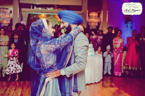 Punjabi Ballroom Indian Wedding Reception in New York - 3