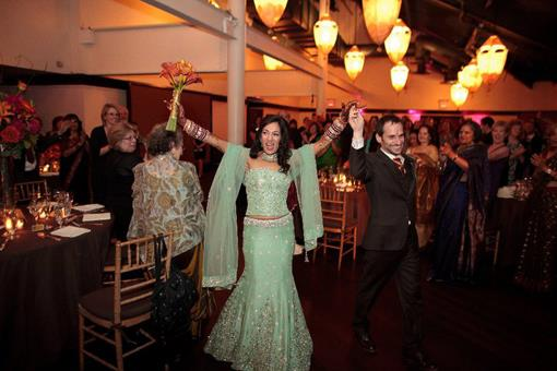 Purva Bedi and David Stoler Wedding Reception Finale