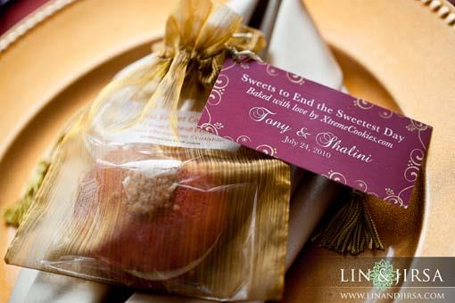 Shalini Vadhera Tony Potts cookie reception favor
