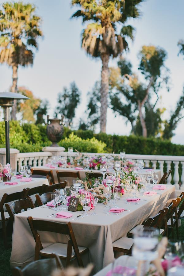 36a- outdoor wedding table setting