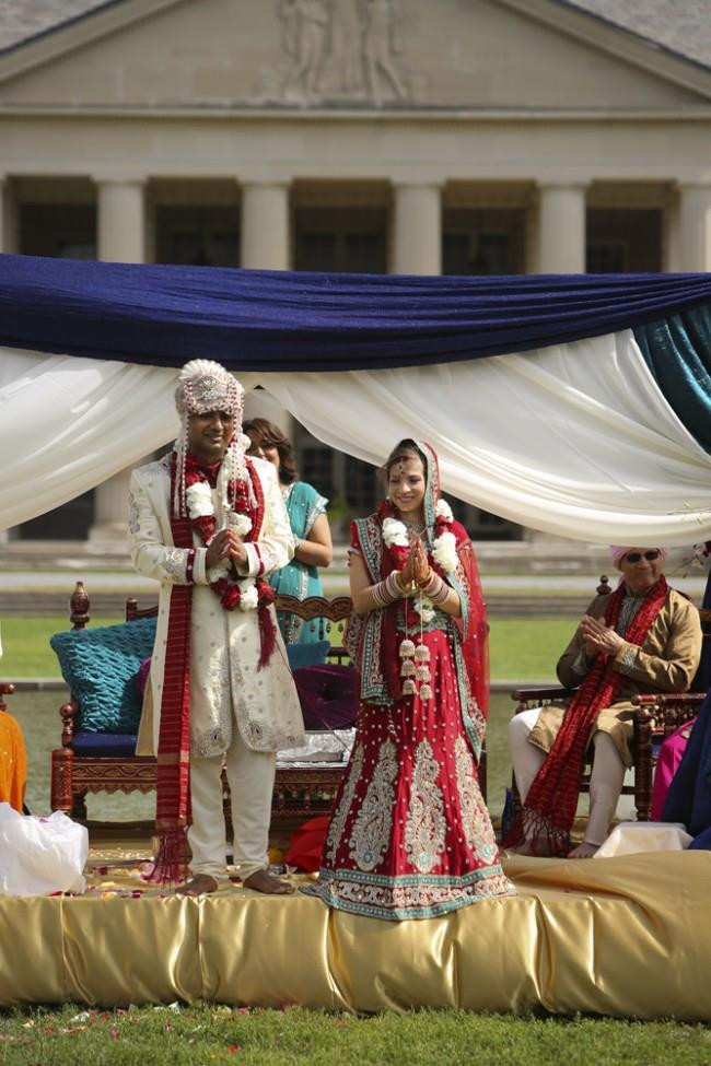 12a outdoor hindu wedding ceremony