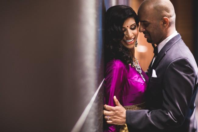 35a indian wedding reception portraits