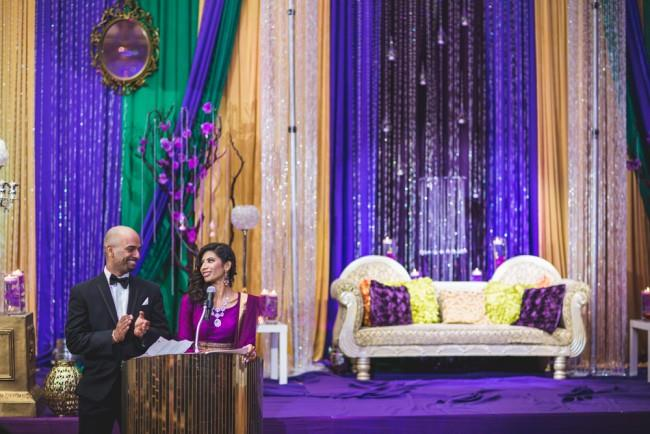 43a indian wedding reception staging and decor