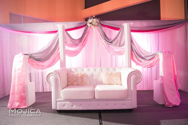 14 indian wedding reception staging