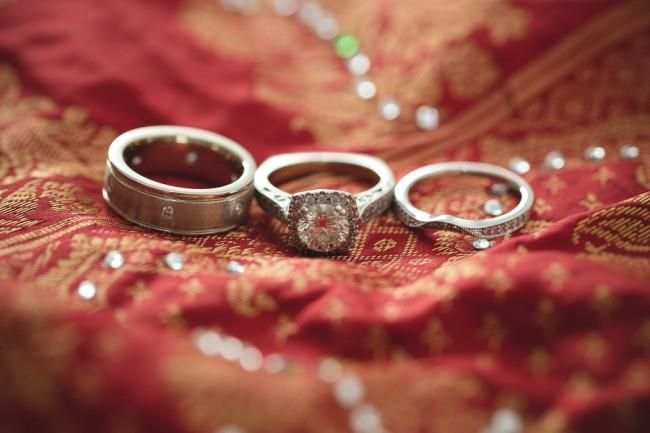 1a- Wedding ring and bands