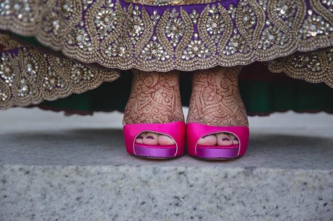 22a- hot pink shoes