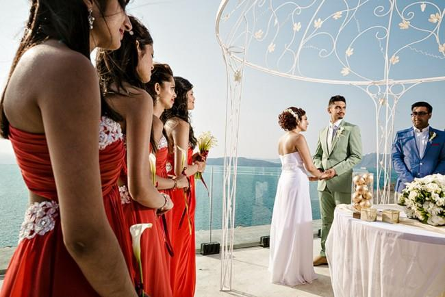 24a- outdoor wedding ceremony in Greece