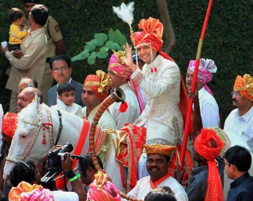 Riteish and Genelia Celebrity Indian Wedding