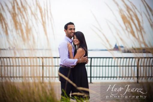 Romantic Indian Engagement Session by Hugo Juarez Photography
