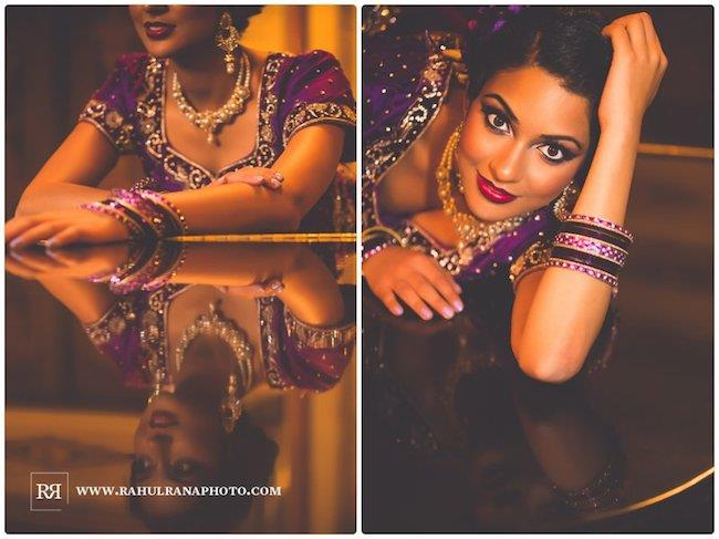 13a indian wedding rahul rana bridal portrait