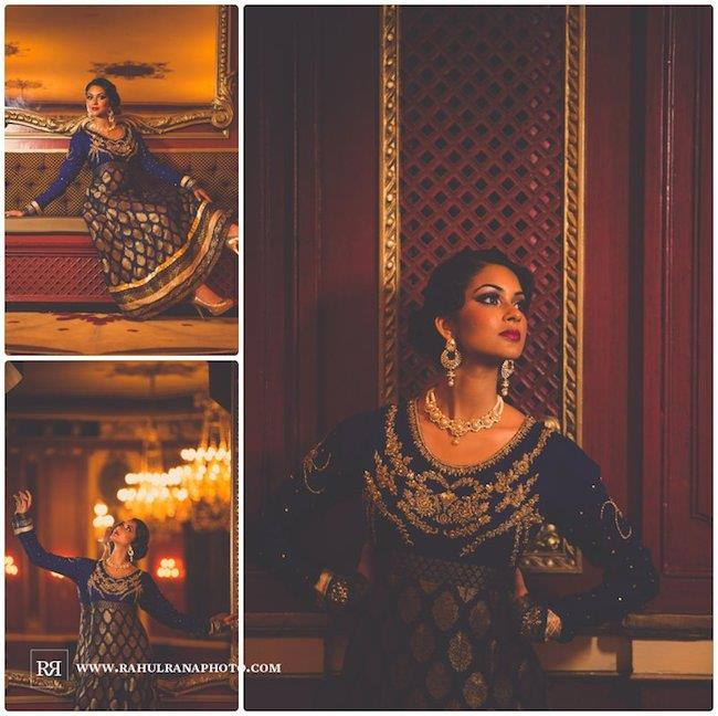 18a indian wedding rahul rana bridal portrait