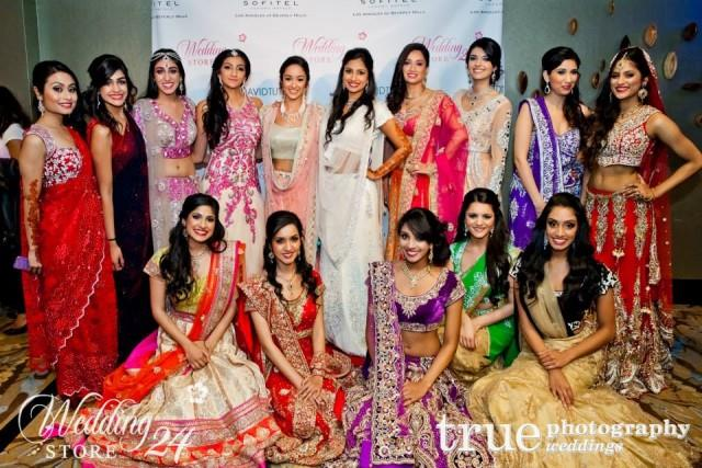 indian bridal wear models