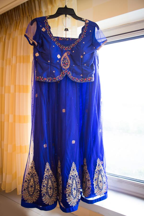 1a indian wedding bridal outfit
