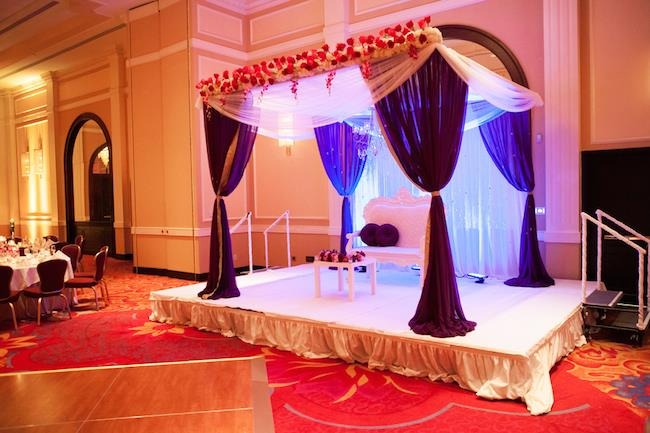 21a indian wedding reception staging