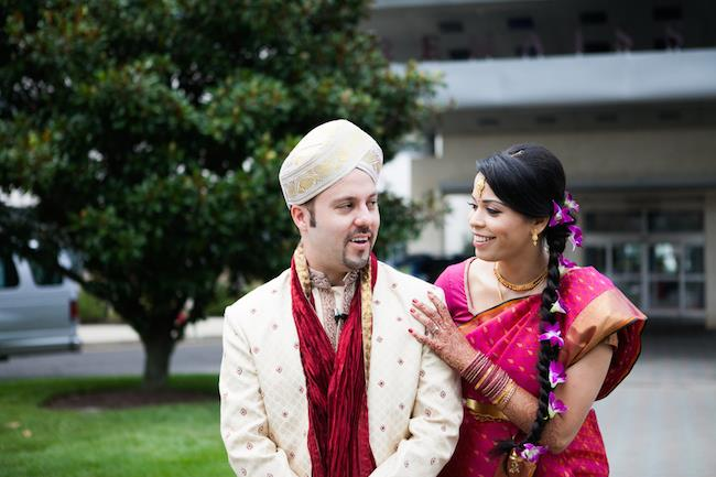 7a indian wedding portrait