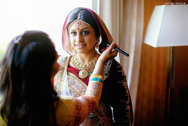 17a indian bridal makeup