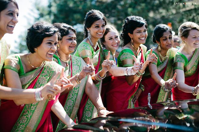 37a indian bridesmaids doli