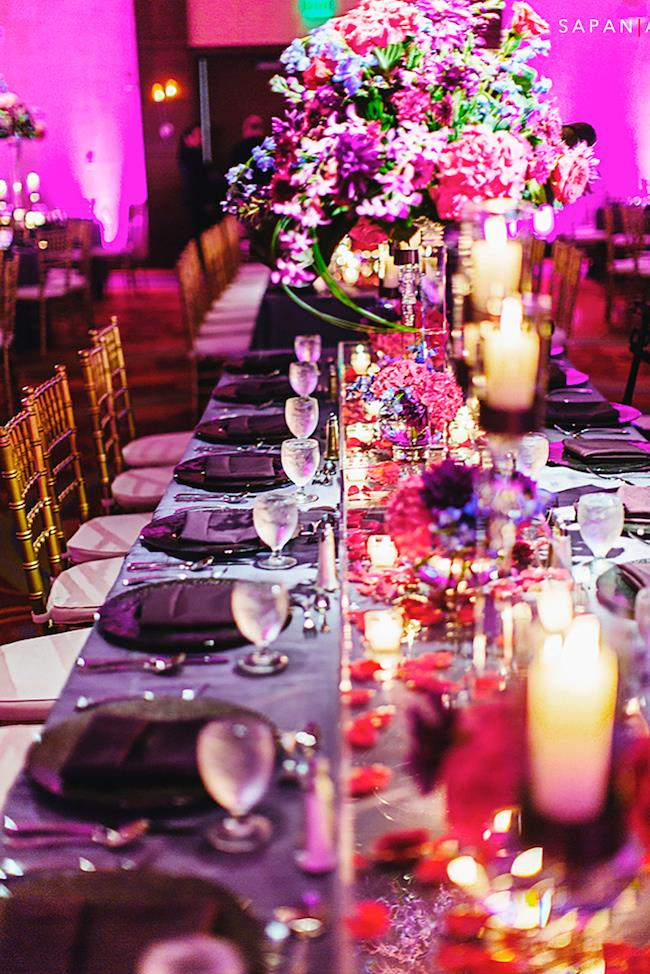 43a indian wedding table scape