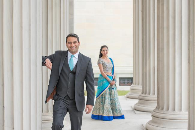 16a indian wedding portrait