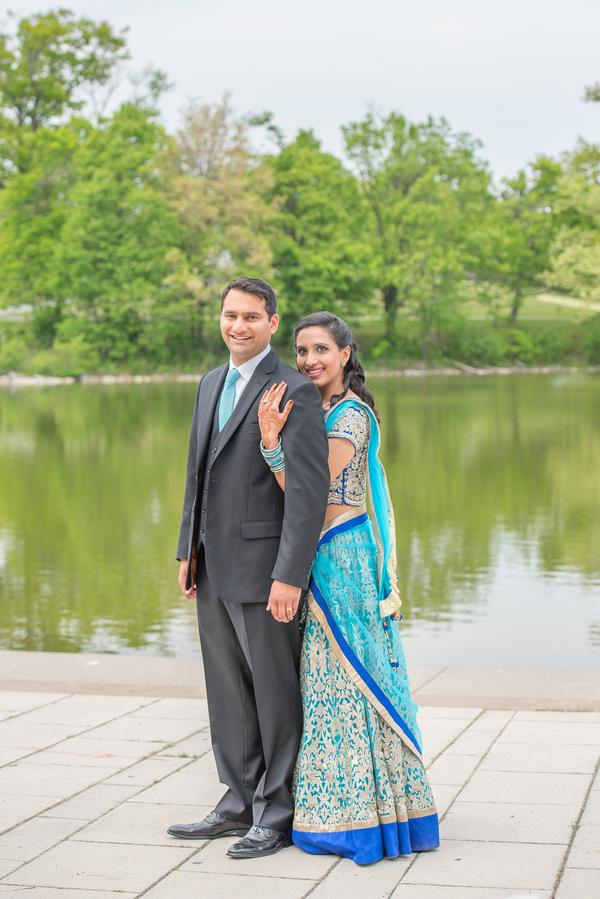 17a indian wedding portrait
