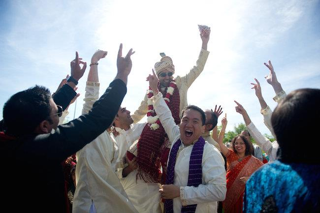 11a indian wedding baraat