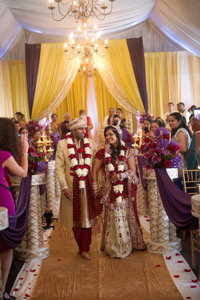 28a indian wedding aisle