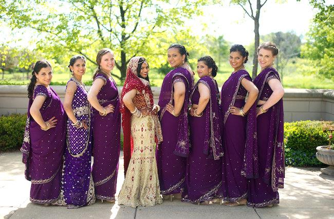 38a indian wedding bridesmaid