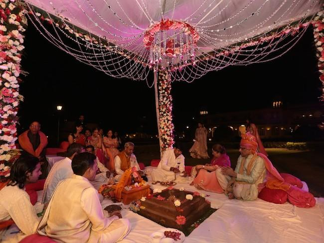 21a indian wedding mandap