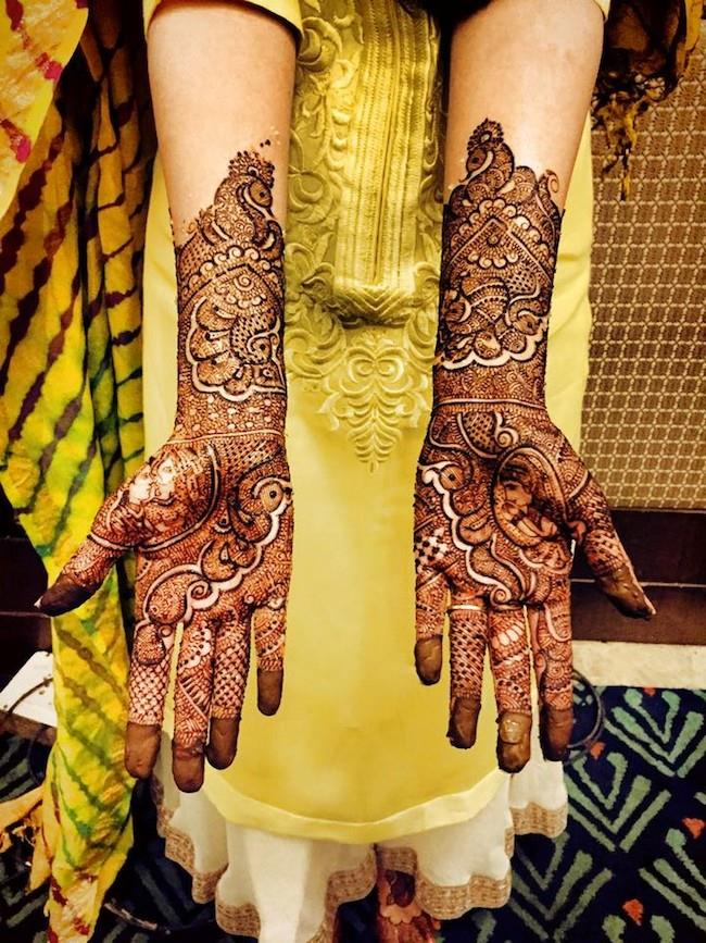 6a indian wedding mehndi