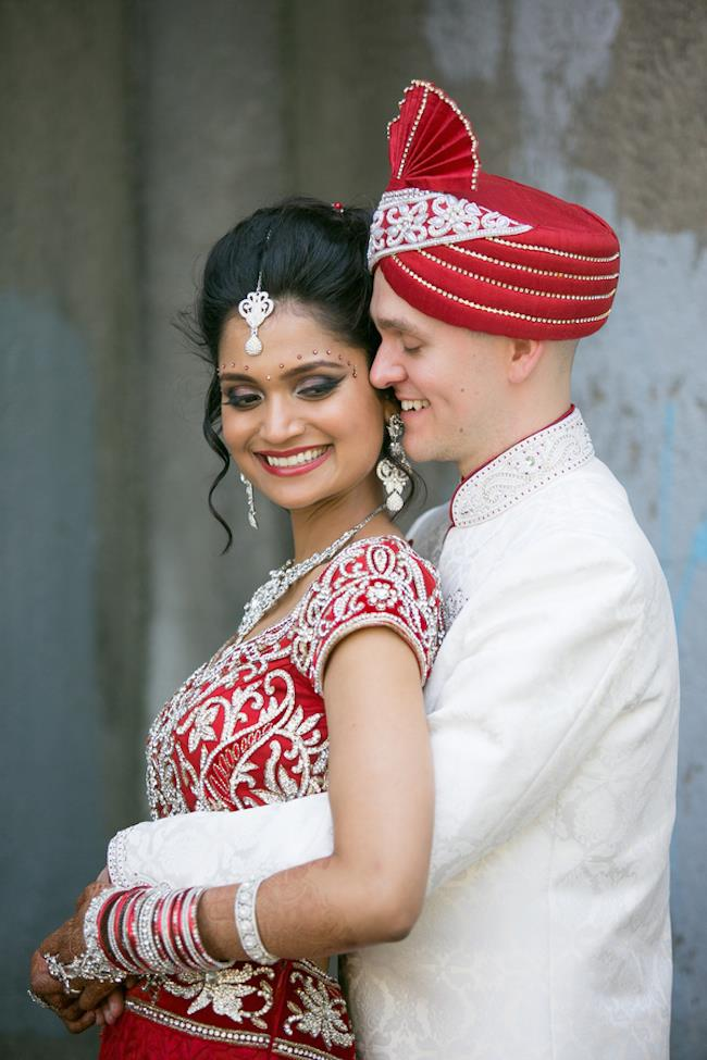 10a indian wedding bride and groom