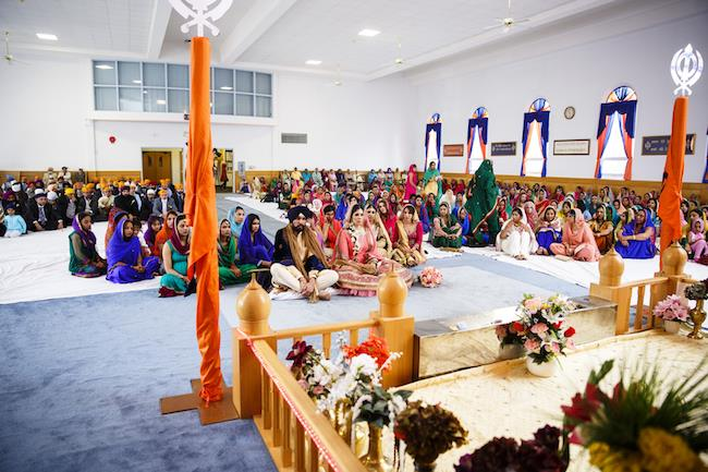 16a indian wedding anand karaj