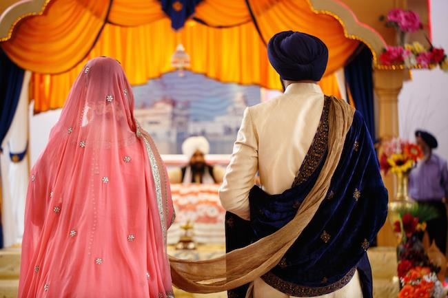 18a indian wedding anand karaj