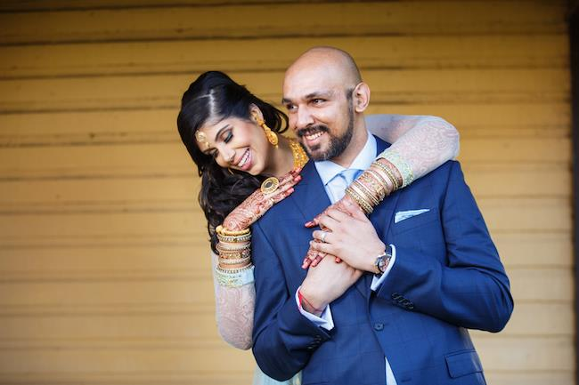 37a indian wedding portrait