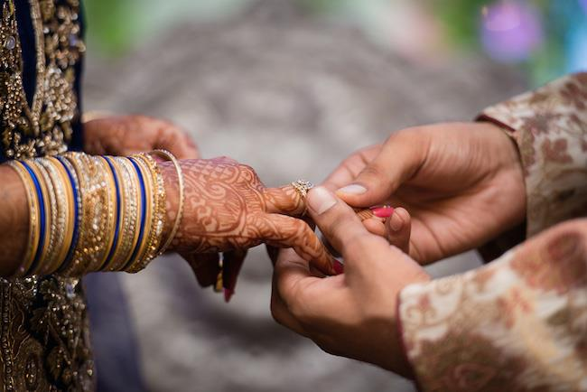 9a indian wedding ring ceremony