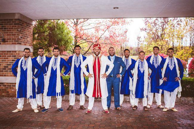 13a indian wedding groomsmen