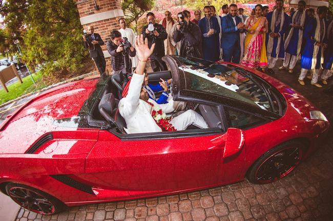 14a indian wedding baraat