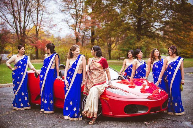 30a indian wedding bridesmaids