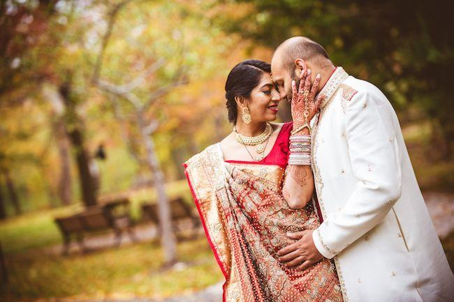 32a indian wedding portrait
