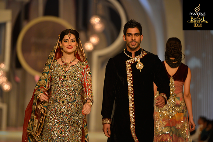 Pantene Bridal Couture Week 2013 - Saim Ali
